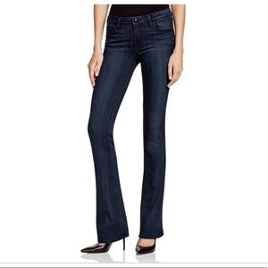 NWT Paige Premium Denim Dark Manhattan